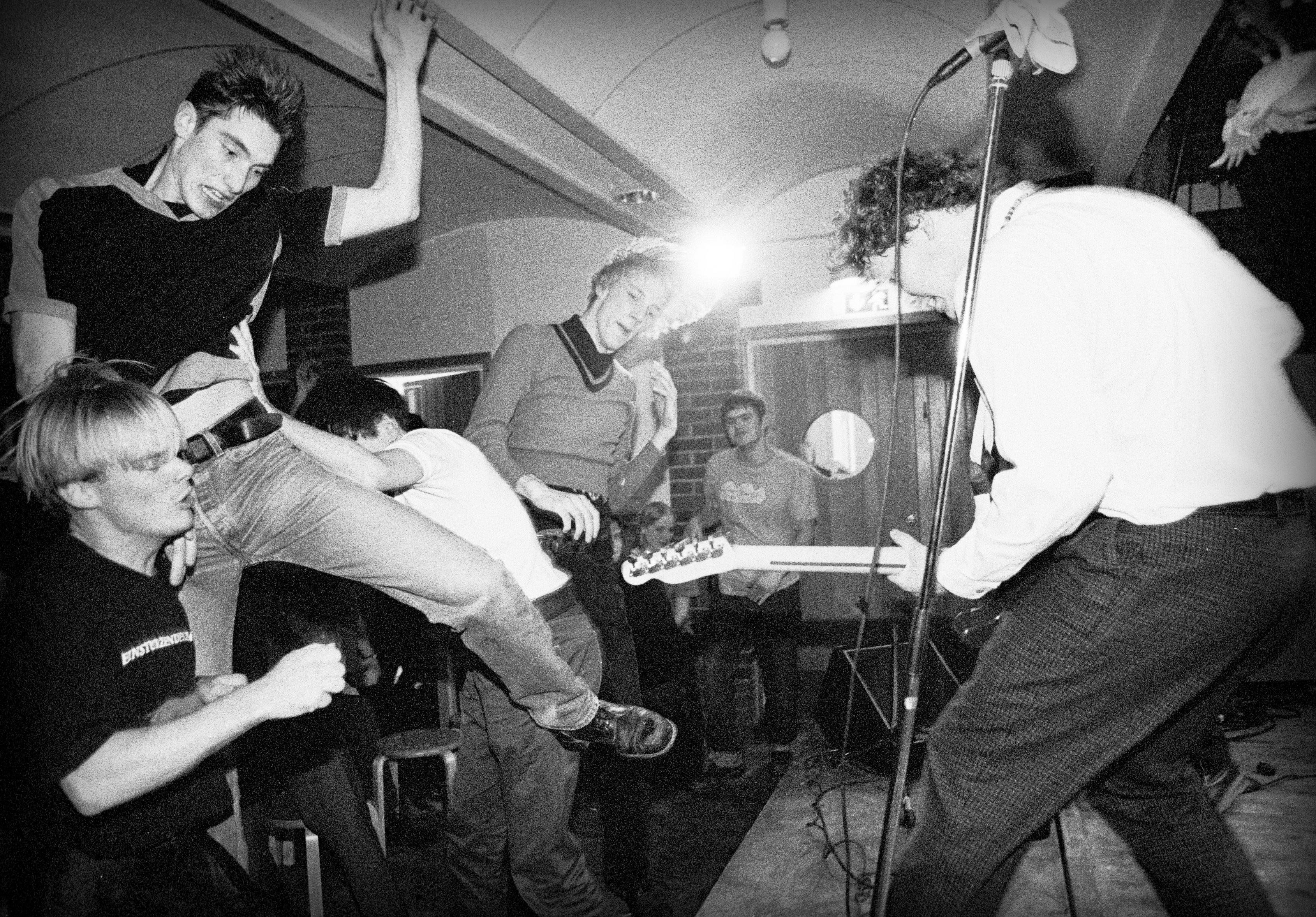 Concert in the basement