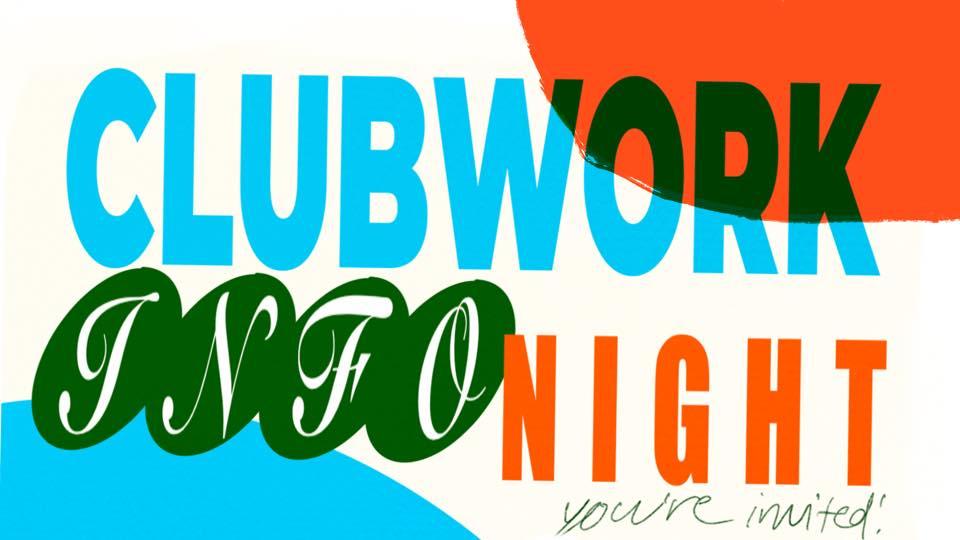 Infokväll om klubbverket / Clubwork info night