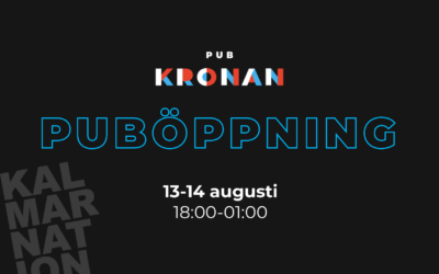 Pub Kronan is now open!